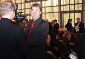 Das Lokalfernsehen aus Hettstedt dokumentierte den Neujahrsempfang in Bergkamen.
