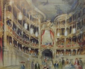 Die letzte Vorstellung im Hoftheater