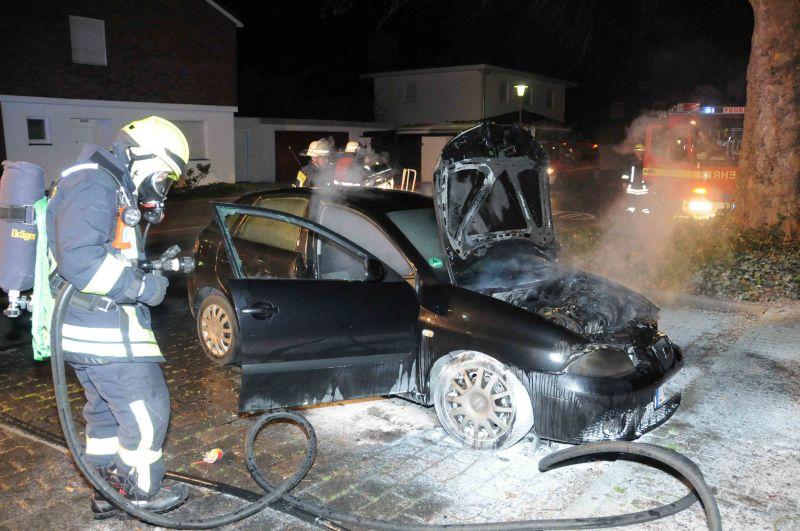 Brandstifter im Einsatz  Edelkirchenhof