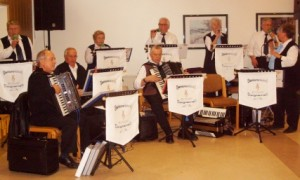 Die 1. Bergkamener Seniorenband wurde vor 10 Jahren gegründet.