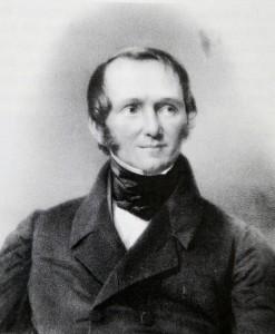 Ernst von Bodelschwingh, Foto nach einem alten Ölgemälde Author Friedrich Jentzen (1815-1901)