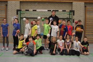 JAn Brosch, Handballer, Klasse 5c Realschule Oberaden
