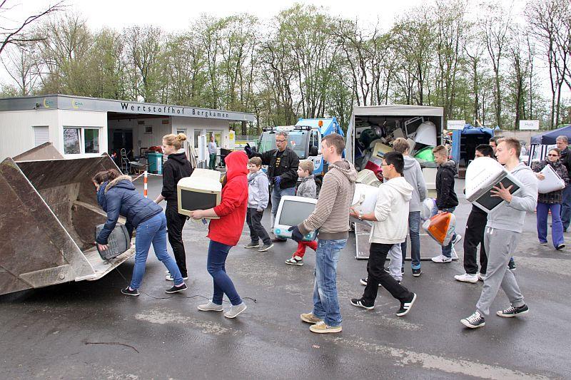 Earth Day 2013 mit der Willy-Brandt-Gesamtschule