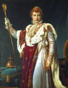 Kaiser Napoleon im Krönungsornat, Gemälde von Fran?ois Gérard, 1810, Salenstein, Napoleonmuseum Thurgau (Schweiz)