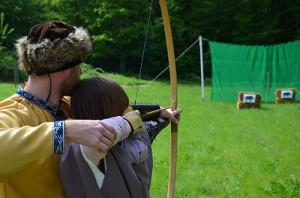 Zielgenauigkeit war bei den Römern auch mit Pfeil und Bogen gefragt.
