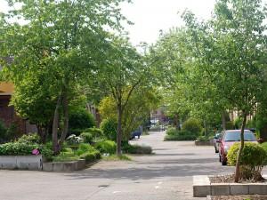 Einfach nur idyllisch: die Taubenstraße in Rünthe