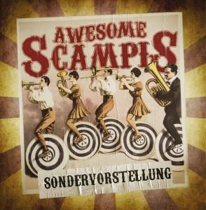 So sieht das Cover der neuen Scampis-CD aus.