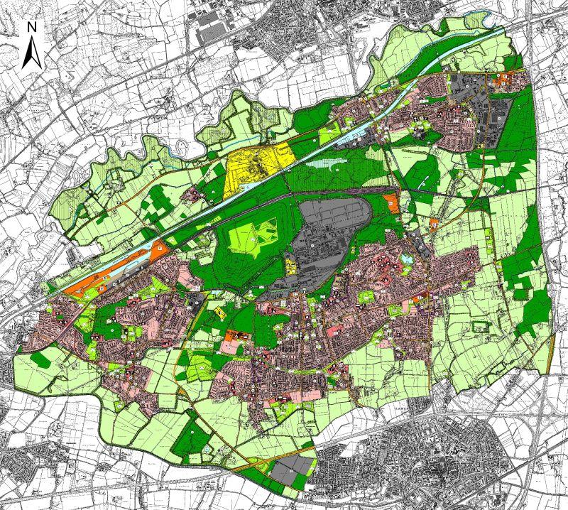 Der neue Flächennutzungsplan der Stadt Bergkamen