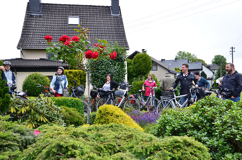 Mit dem Rad durch die schönsten Bergkamener Gärten: Wiederholung dringend erwünscht!