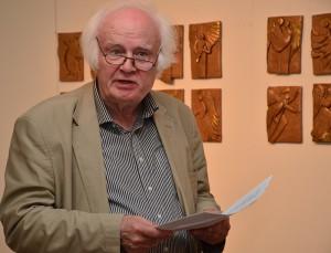 Dieter Treeck steuerte Wortgewaltiges zum traumhaften Thema der Jahresausstellung bei.