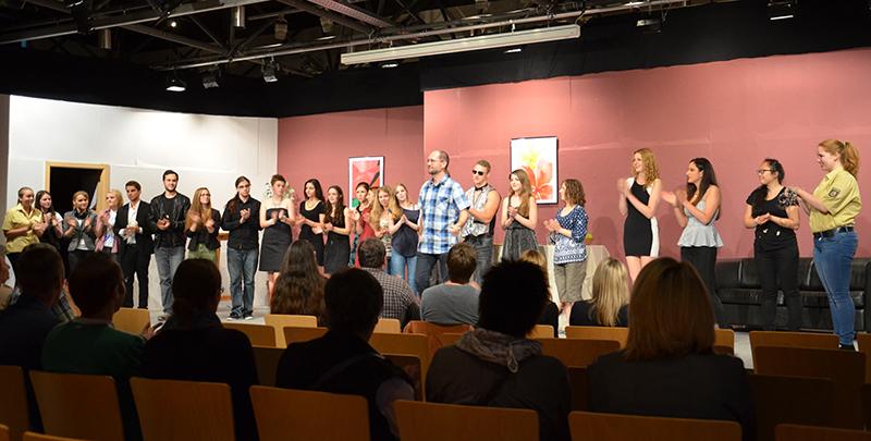 Ein starkes Ensemble erntete am Wochenende viel Applaus auf der Bühne des PZ.