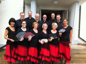 Die Dancers Formation ist aus den Tanzkursen der ev. Friedenskirchengemeinde Bergkamen entstanden.