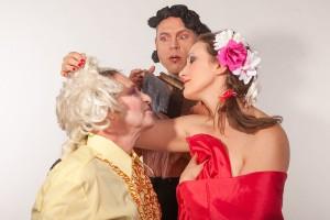"""Eine Szene aus """"Liebe"""" mit dem N.N. Theater. Foto: Veranstalter"""
