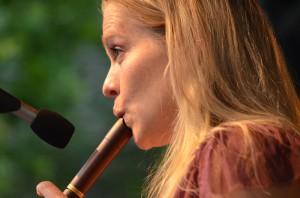 Leidenschaft präsentierte die Band nicht nur an einer von mindestens 30 Flöten.