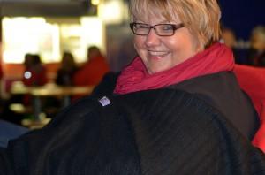 Dicke Decken und Schal waren nach Unwetter und Temperatursturz gefragt.
