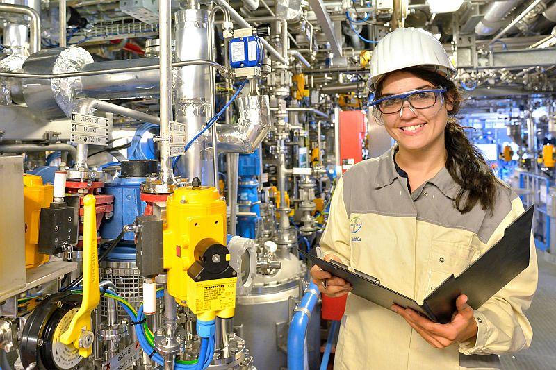Seit Juli ist Keylan Suárez de Armas Technische Assistentin bei Bayer in Bergkamen.