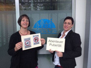 Die beiden Referentinnen Uta Schilling (l.) und Andrea Brinkmann.