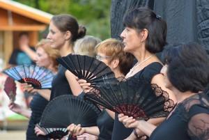 Feuriger spanischer Tanz: Die AK-Dancers Formation heizte mit Paso Doble ein.