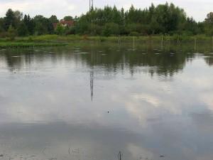 Neuer See auf Dammwildgehege bis zu 1,34 Meter tief