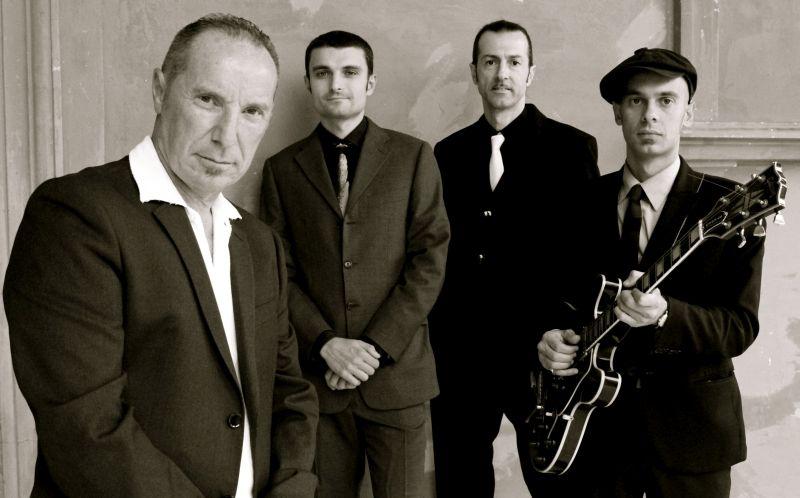 Egidio J Ingala mit seiner Band The Jacknives