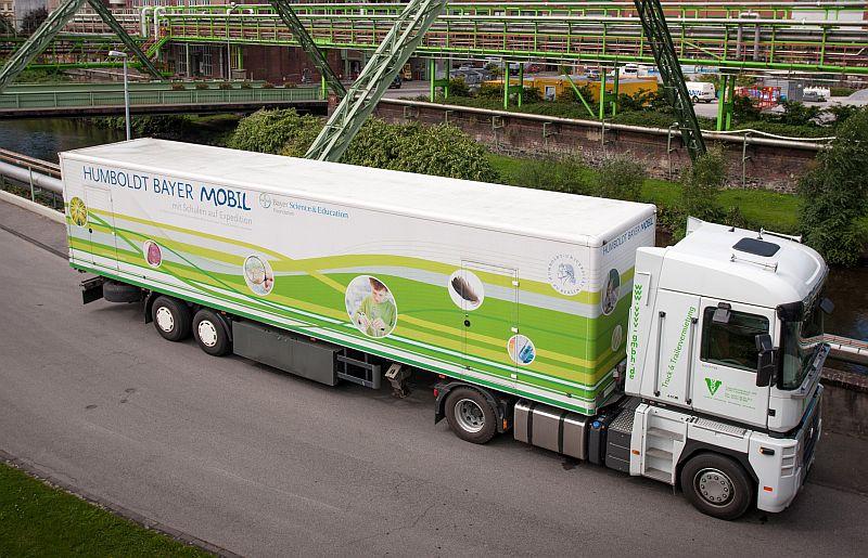 Das Humboldt Bayer Mobil kommt nach Bergkamen