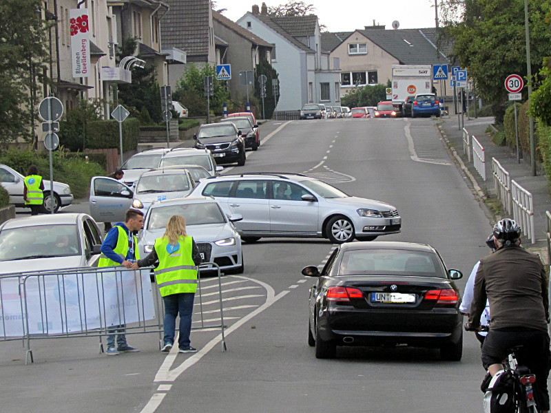 Die Jahnstraße ist am Sonntag wie einige andere Straßen im Stadtgebiet bis 18 Uhr gesperrt.