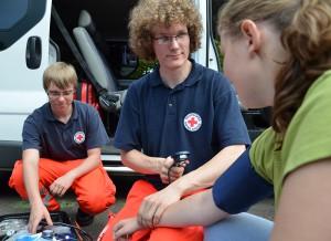 Beim Roten Kreuz stand die Gesundheit im Vordergrund.