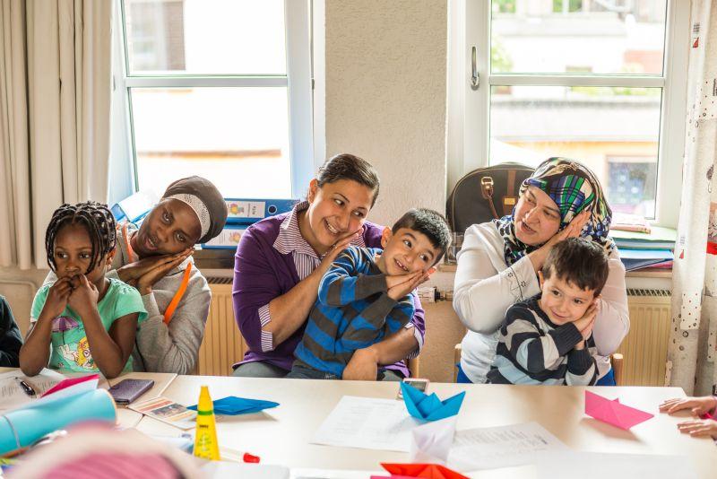 """Das Programm """"Rucksack KiTa"""" wird bei Eltern und Einrichtungen gut angenommen. Foto: Dennis Treu – Kreis Unna"""