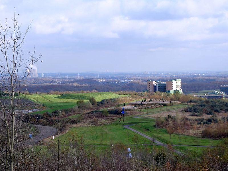 Die neuen Sichtschneisen bieten den Besuchern der Adener Höhe neue herrliche Ausblicke wie auf den Korridorpark.