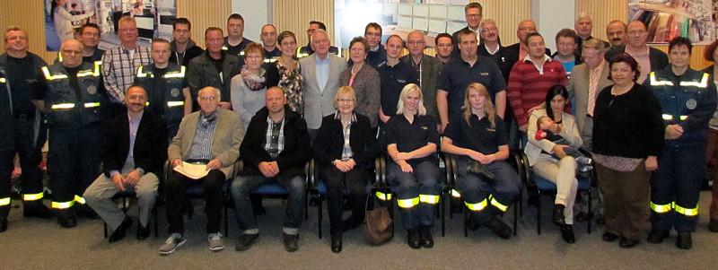Diese Frauen und Männer wurden mit der Ehrenamtskarte NRW ausgezeichnet.