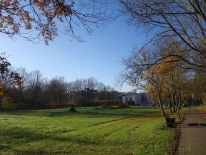 Grundstück neben der LWL-Tagesklinik: der neue Standort für die Moschee der DITIB-Gemeinde Bergkamen-Mitte.