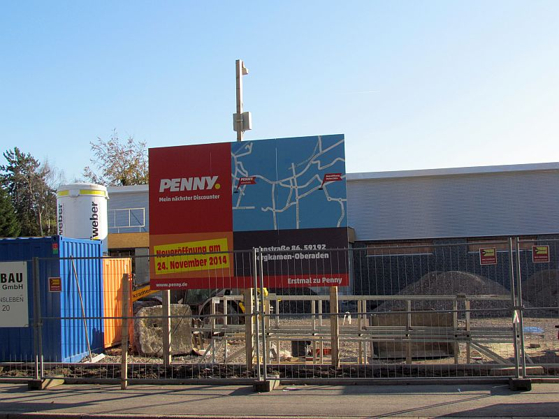 Dewr neue Penny-Markt an der Landwehrstraße soll am 24. November eröffnet werden.