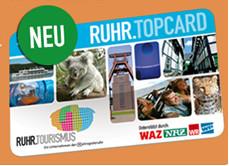 Die neue RUHR.TOPCARD 2015 der Ruhr Tourismus GmbH ist im Bürgerbüro der Stadt Bergkamen erhältlich