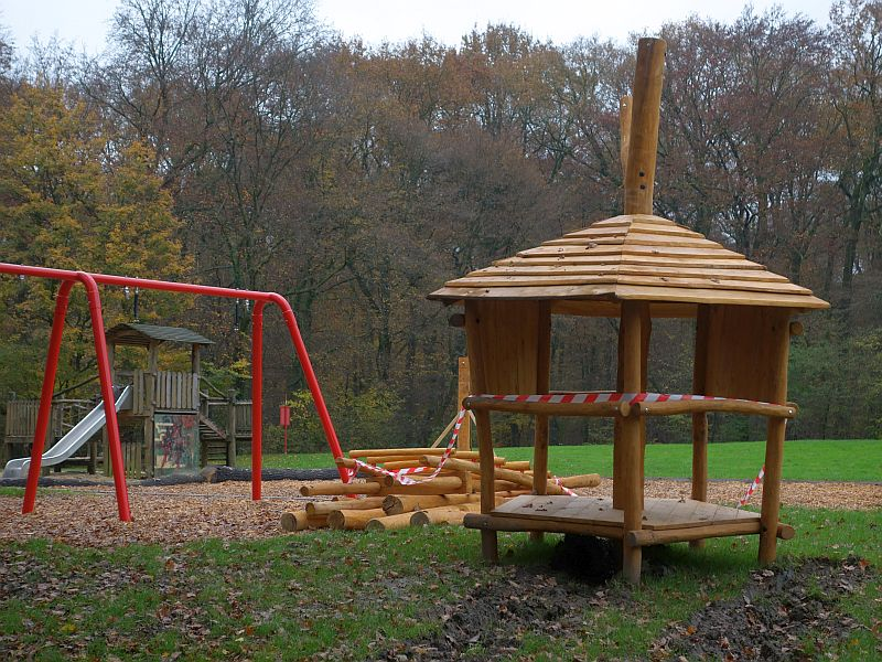 Noch in diesem Jahren sollen die Arbeiten auf dem Spielplatz am Römerpark in Oberaden abgeschlossen werden.
