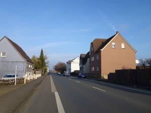 Auf diesem Teilstück der Werner Straße soll eine Geschwindigkeitsbegrenzung auf 30 km/h eingeführt werden.