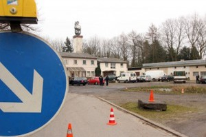 Auf dem Gelände des Technischen Hilfswerks (THW) an der Werner Straße wurden die Drogen- und Alkoholkontrollen vorgenommen.