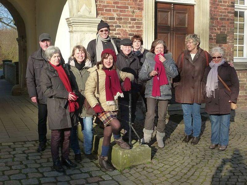 Die Bergkamener Künstlergruppe auf Schloss Oberwerries