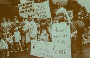 Proteste und existenzielle Krisen: Auch das hat Bergkamen geprägt.