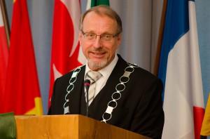 Eindringliche Worte von Bürgermeister Roland Schäfer mit Blick auf 2015.