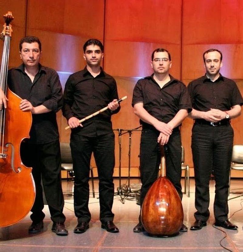 "Das syrische Ensemble ""Ramel Aleppo"""