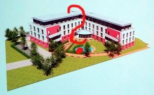 So hätte das geplante Pflegeheim an der Landwehrstraße nach den Vorstellungen der Architekten aussehen können.
