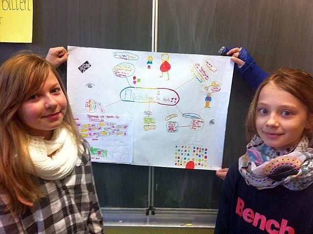Johanna Veit und Lea-Marie Voß hatten die Idee für die Spendenaktion.