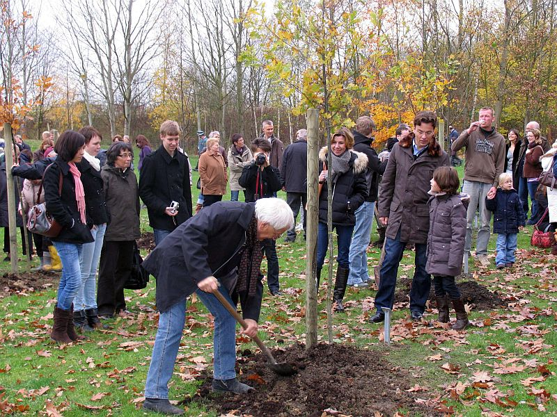 Der nächste Pflanztermin im Bergkamener Jubiläumswald ist am 11. April.