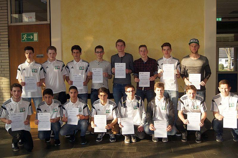 Die neuen DFB-Junior-Coaches.