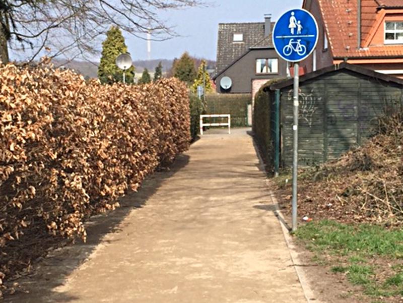 Weg Sonneneck-Häupenweg