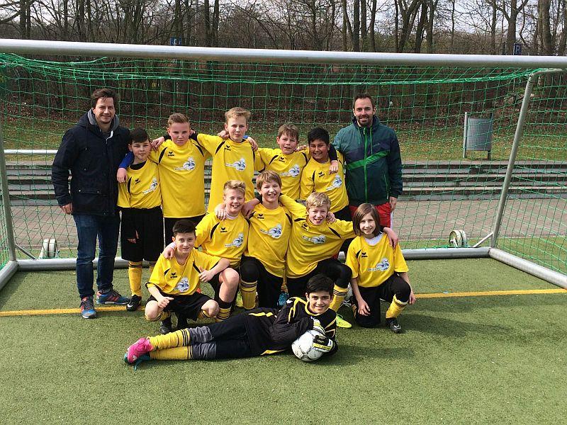 Das WK IV-Team des Bergkamener Gymnasiums.