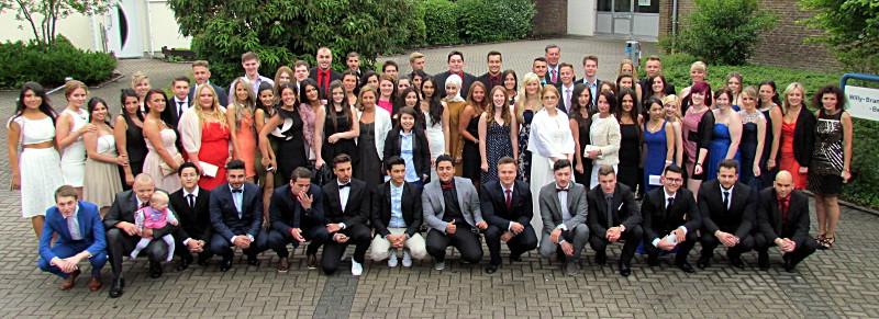 Abi-Jahrgang 2015 der Willy-Brandt-Gesamtschule