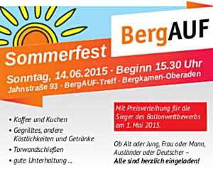 BergAUF - Sommerfest