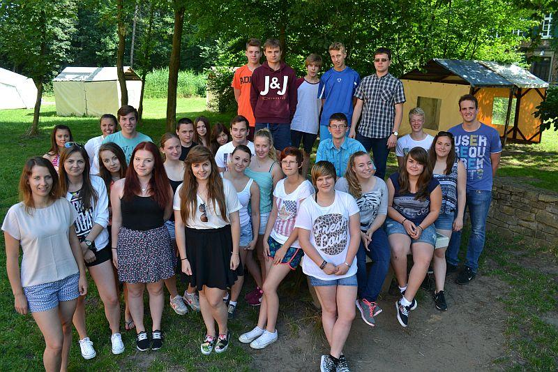 Die jungen Leute aus Wieliczka und Bergkamen haben sich bis Sonntag noch eine Menge vorgenommen.