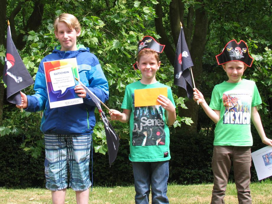Die Gewinner der Hafenfest-Schatzsuche